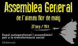 Assemblea General [21-Set]