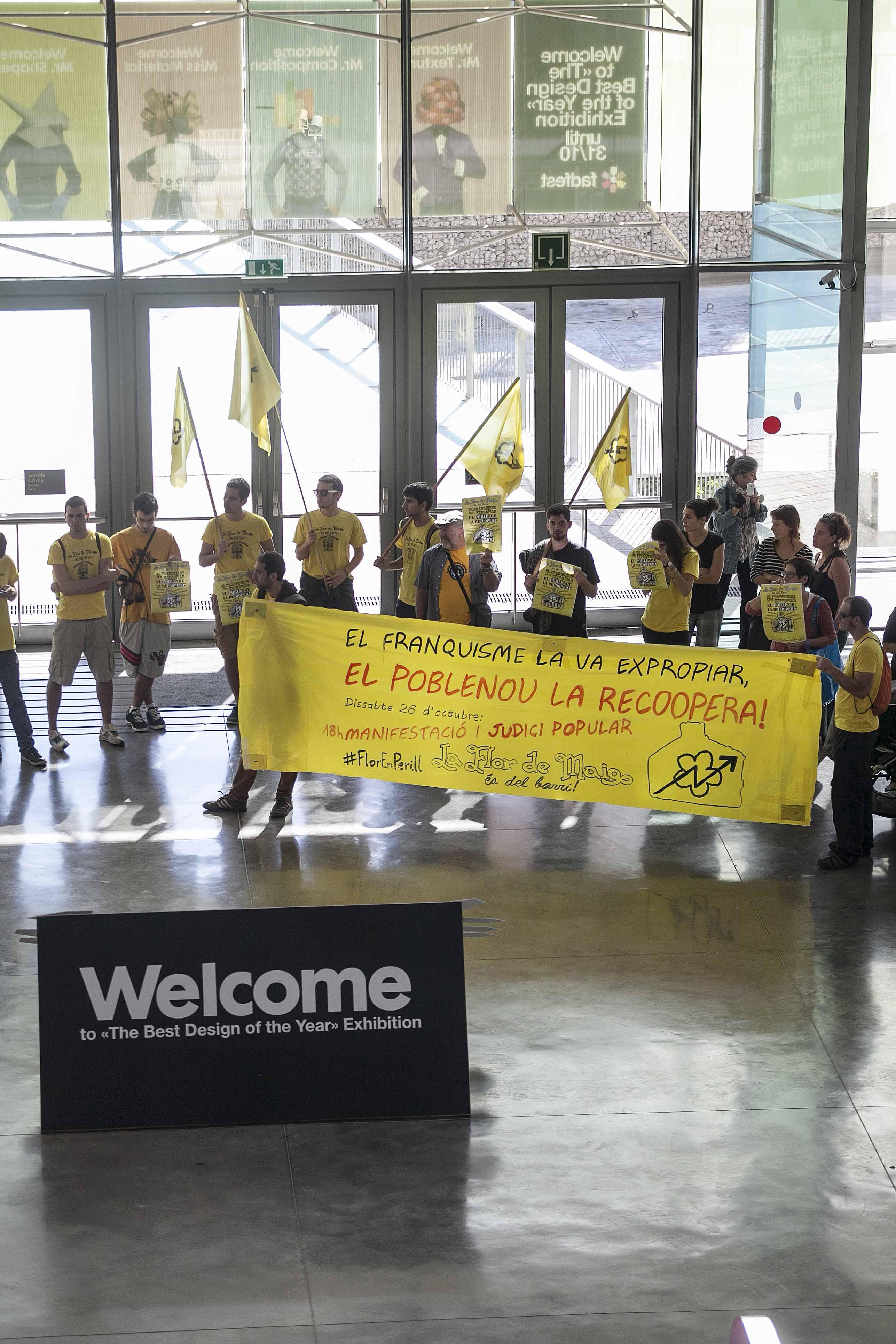Ocupen el Museu HUB  Nota de premsa