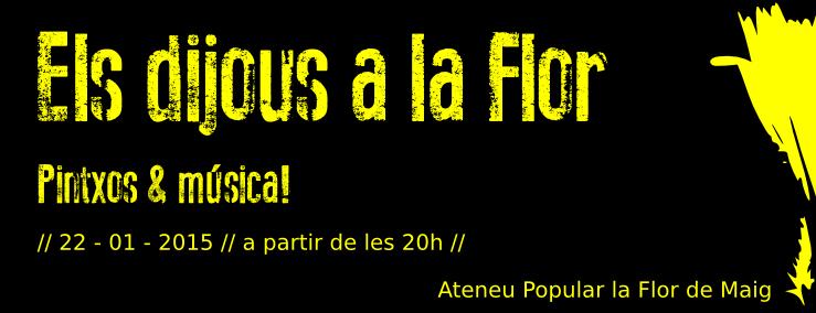 [Dijous a la Flor] Pinxos i música!