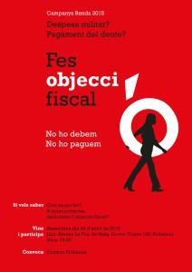 Objecció fiscal dona