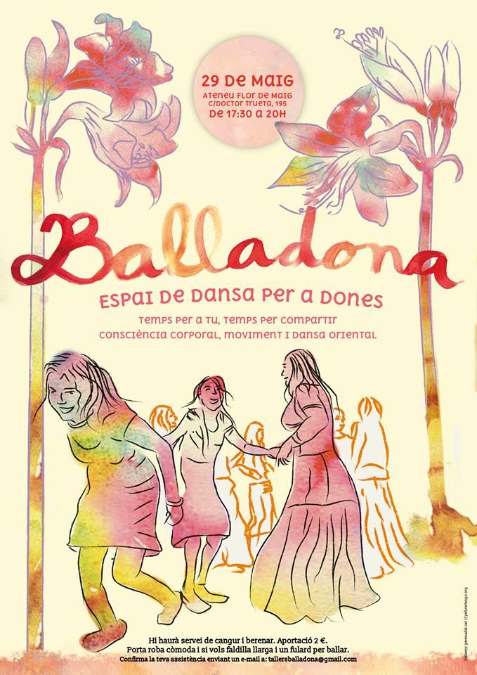 """Divendres 29 a la Flor de Maig """"Balladona"""""""