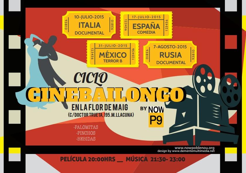 Cinema i música pels propers divendres d'estiu a la Flor de Maig
