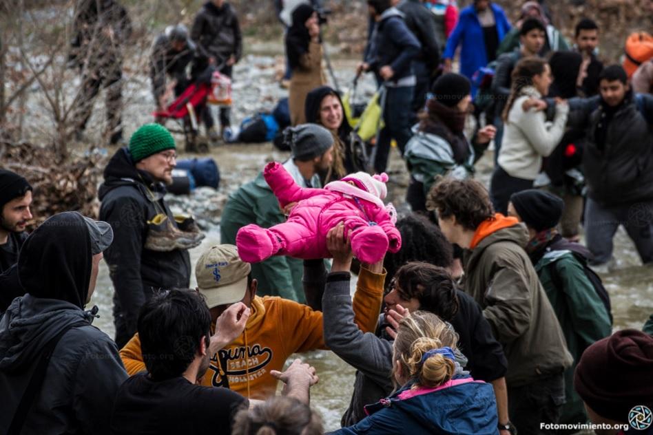 Europa era això. Comunicat sobre la situació dels refugiats a la frontera entre Grècia i Macedònia