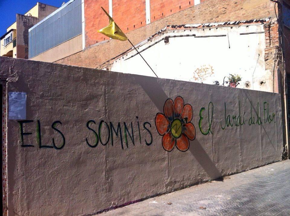 [Comunicat] El Jardí de la Flor resisteix a les amenaces violentes de la propietat