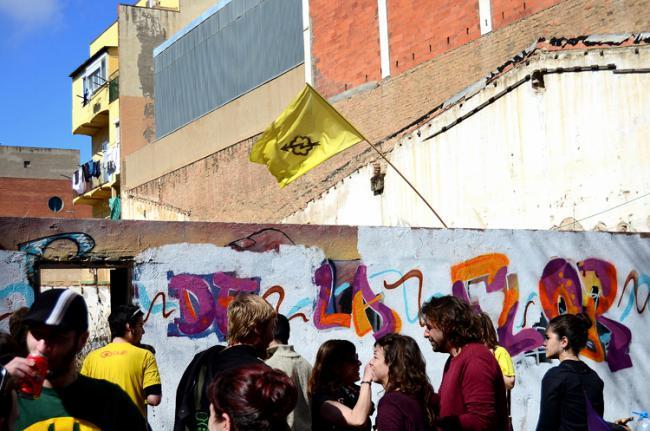[Comunicat] Seguirem lluitant contra l'especulació al barri i teixint espais de participació, sobirania i poder popular!