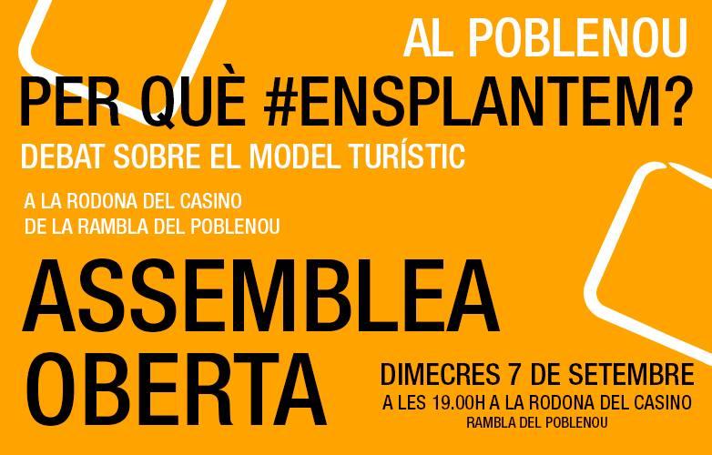 [Nota de Premsa] Nova convocatòria d'assemblea de la plataforma #EnsPlantem